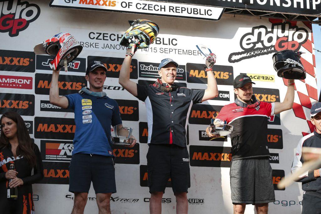 Holcombe consegna il risultato vincente a EnduroGP della Repubblica Ceca