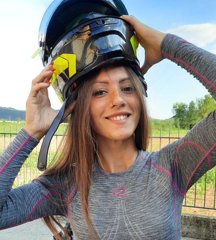 Cristina Zambrini - Biker - Riday Ambassador